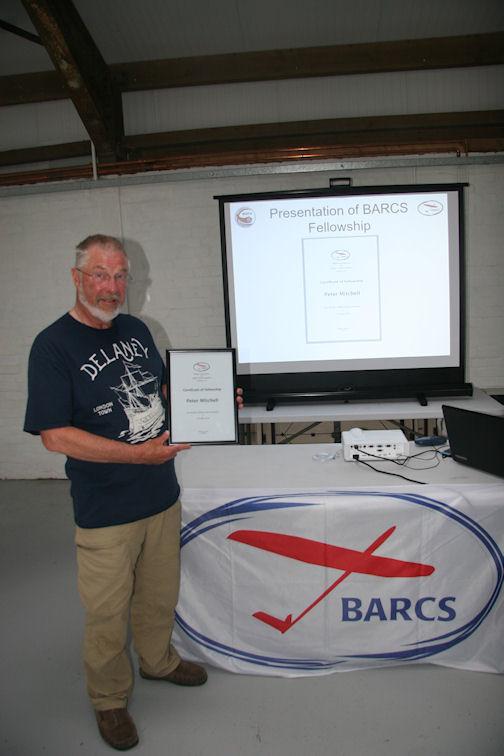 BARCS Fellow Pete Mitchell